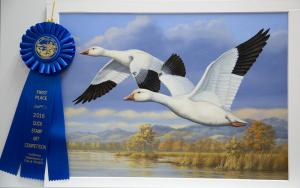 Guy Crittenden Wins 2016 California Waterfowl Conservation Stamp Contest